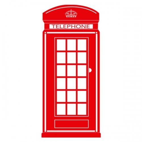 Виниловая Наклейка Glozis Telephone