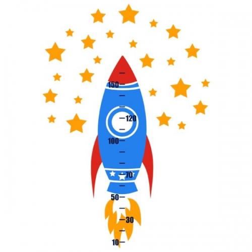 Виниловая Наклейка Glozis Rocket