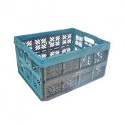 Складной ящик хозяйственный  32л синий 0224.1