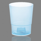 Горшок для цветов  COUBI 125 мм круглый прозрачный