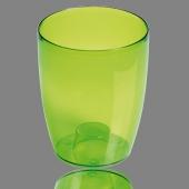 Горшок для цветов  COUBI 130 мм круглый прозрачный