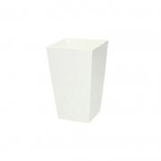 Горшок для цветов URBI 125мм квадратный Белый 70820-449