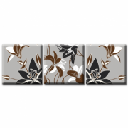 Модульная Картина Glozis Dark Lily