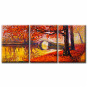 Модульная Картина Glozis Golden Autumn
