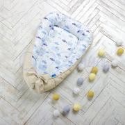 Кокон для новорожденных Baby Design премиум City