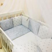 Постельный комплект Baby Design Премиум Короны 6 ед.