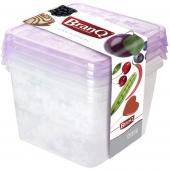 Комплект емкостей для морозилки квад RUKKOLA 3шт 2*0,45л+0,75л 1125