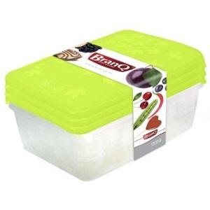 """Комплект емкостей для морозилки прям.""""RUKKOLA"""",3шт(2*0,9л+1,35л)"""