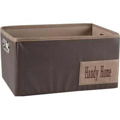 Короб Handy Home для хранения бежевый М