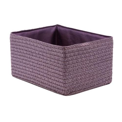 Короб прямоугольный лиловый M