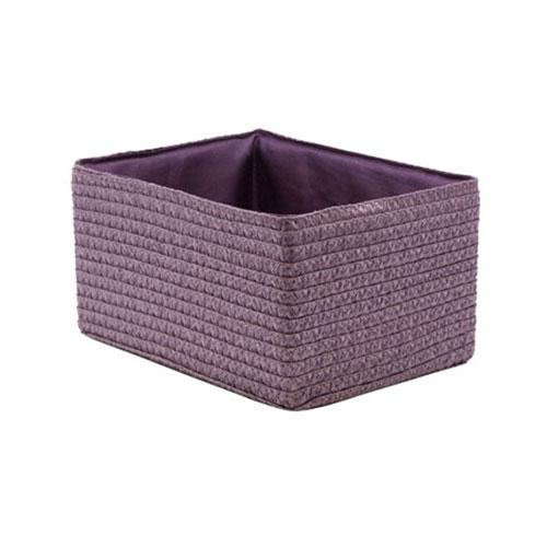 Короб прямоугольный лиловый S
