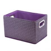 Короб прямоугольный складной фиолетовый L