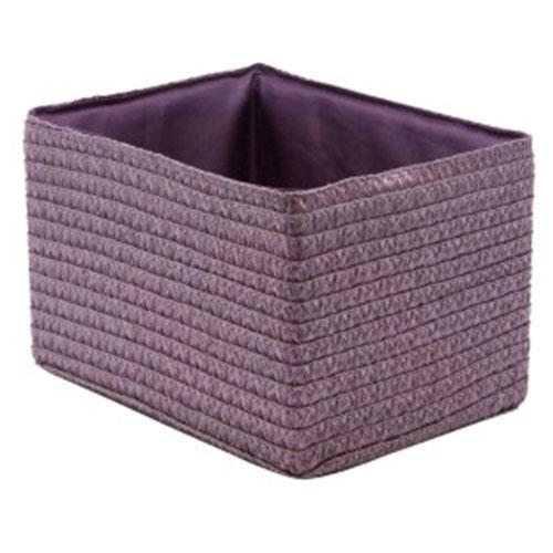 Короб прямоугольный складной фиолетовый M