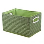 Короб прямоугольный складной зеленый L