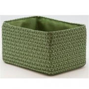 Короб прямоугольный складной зеленый M