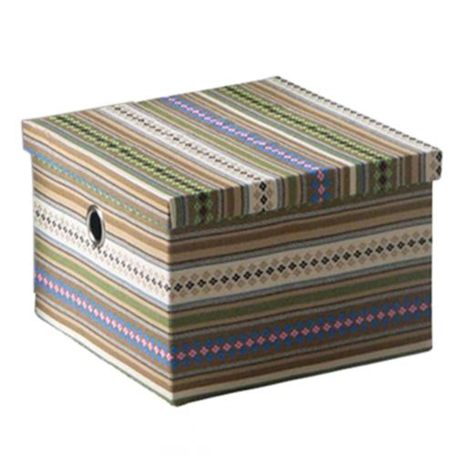 Короб текстильный с крышкой 21L