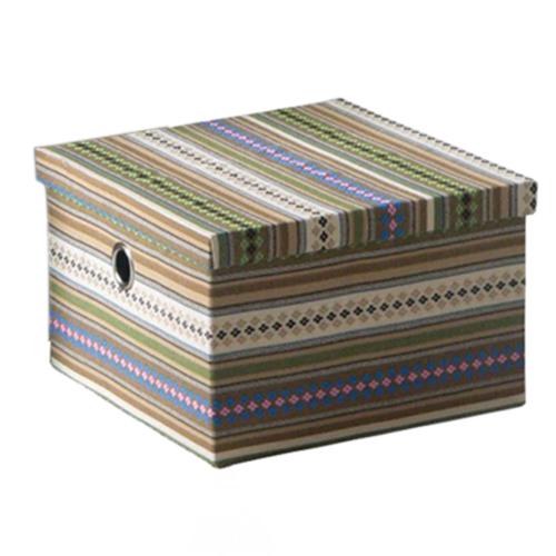 Короб текстильный с крышкой 21M
