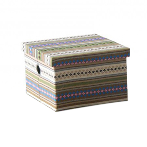 Короб текстильный с крышкой 21S