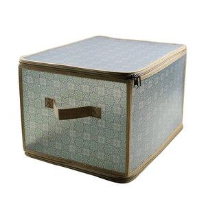 Коробка для хранения Handy Home на молнии серая, L