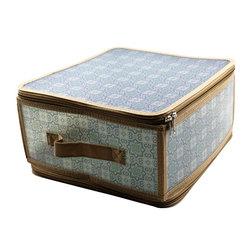 Коробка для хранения Handy Home на молнии серая, М