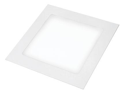EUROLAMP LED Светильник квадратный Downlight NEW 24W 4000K