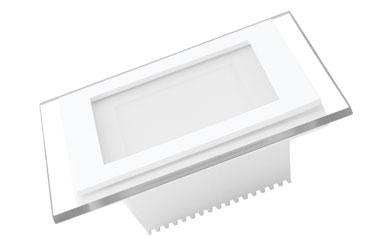 EUROLAMP LED Светильник квадратный Downlight NEW 6W 3000K