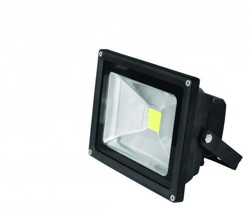 EUROELECTRIC LED Светильник COB черный 20W 6500K classic