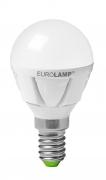 EUROLAMP LED Лампа G45 5W E14 4000K прозора