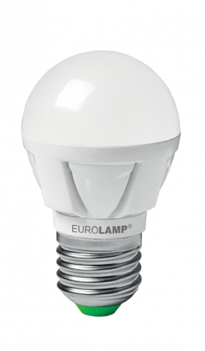 EUROLAMP LED Лампа G45 5W E27 3000K прозора