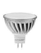 EUROLAMP LED Лампа MR16 5W GU5.3 3000K 220V