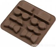 Форма силиконовая для конфет Детектив, 14х13х2см