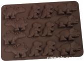 Форма силиконовая для конфет Динозавр, 18х13х1см