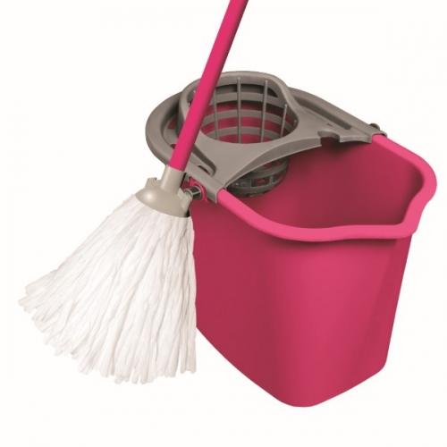 Набор для уборки МОП СЕТ 10л (Ведро МОП10л, кий, мочалка)
