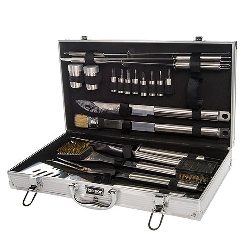 Набор инструментов для барбекю 21 прибор