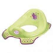 Накладка на унитаз Hippo зеленая 8650