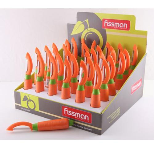 Нож для чистки овощей в форме моркови