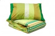 Односпальный комплект постельного белья эконом «Горох»