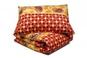 Односпальный комплект постельного белья эконом «Вензель»