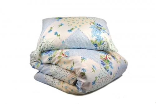 Односпальный комплект постельного белья эконом Печворк