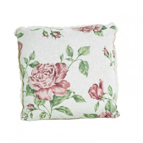 Подушечка декоративная Прованс Large pink rose
