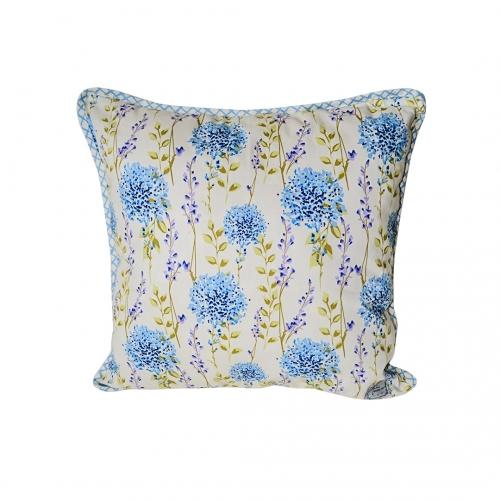 Подушка декоративна Блакитна клітка ТМ Прованс # Andre Tan
