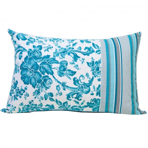 Подушка декоративная Allure blue