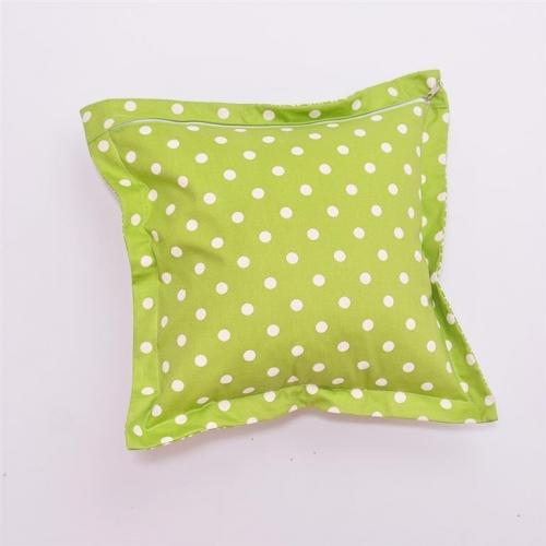Подушка декоративная Горох-Олива