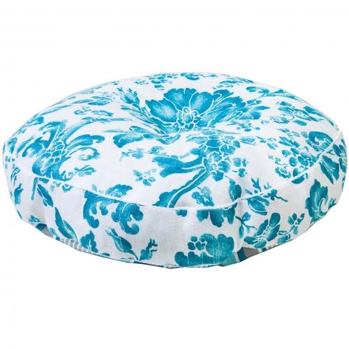 Подушка декоративная круглая Allure blue