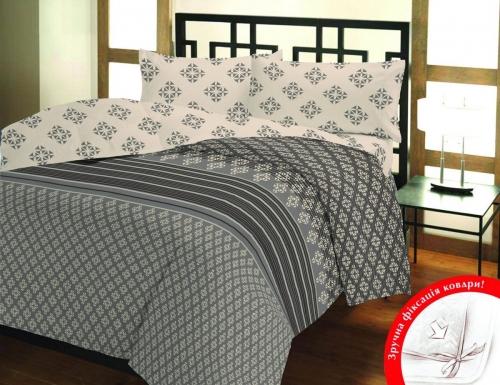Полуторный (евро) комплект постельного белья Бязь «Элара»