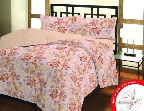 Полуторный (евро) комплект постельного белья Бязь «Юнона»