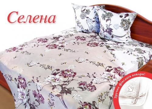 Полуторный комплект постельного белья Бязь «Селена»