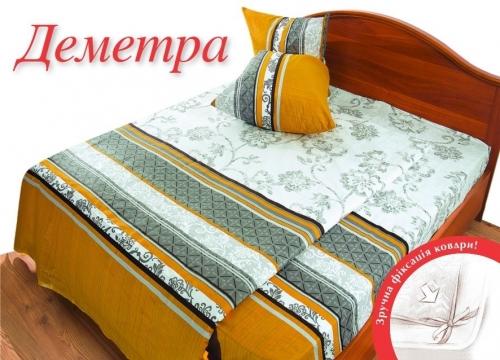 Полуторный комплект постельного белья Бязь «Деметра»