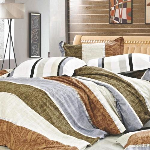 Полуторный комплект постельного белья Сатин «Артуа»