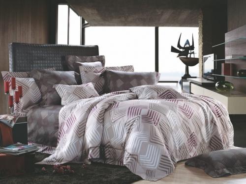 Полуторный комплект постельного белья Сатин «Гранд»